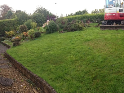 Garden Landcaping, Terrace, Portishead garden