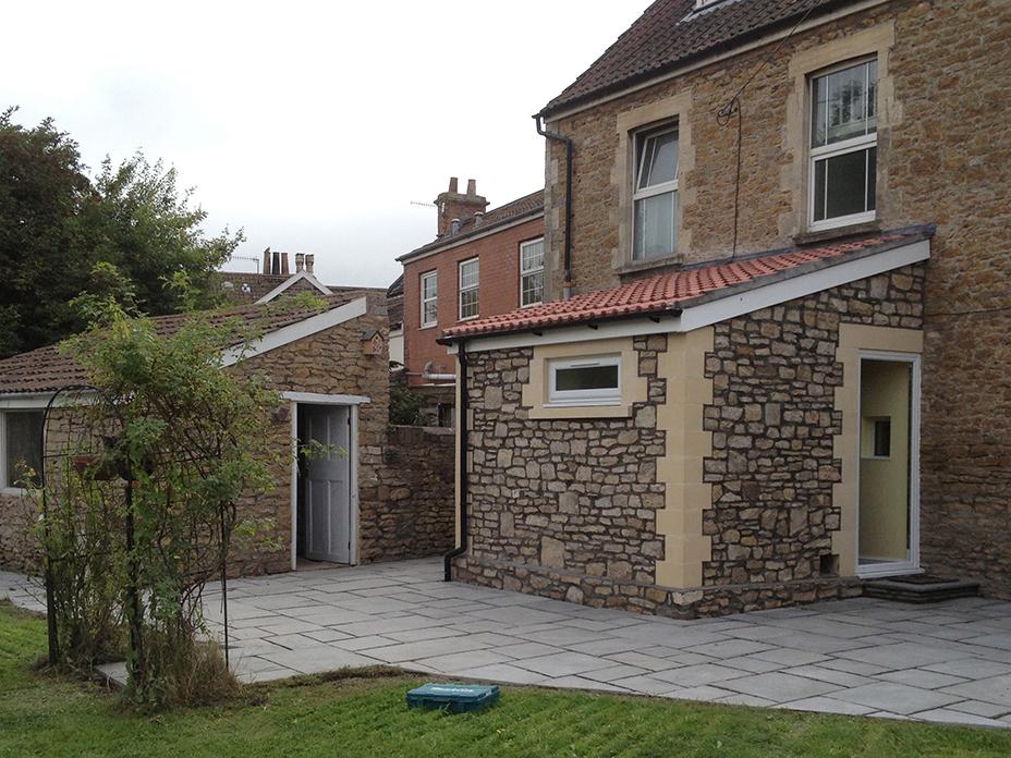 Building extension, stone mason, stonemason, builders