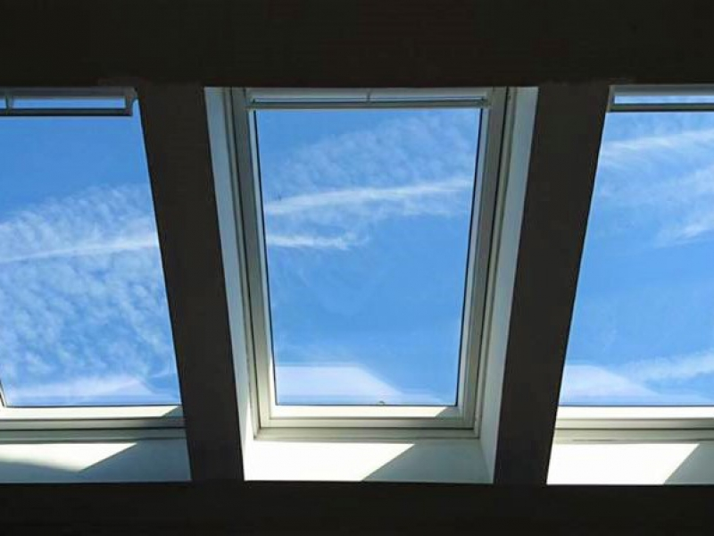 velux windows, velux, volted ceiling, portishead, portishead builder, windows, window fitted